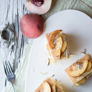 Peach and Almond Teacakes