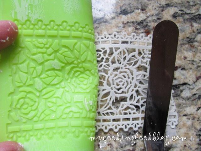 Как се прави Захарна дантела (Sugar Lace Mix)