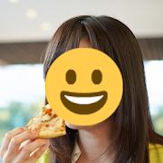 "Face hidden app ""Auto face stamp"""