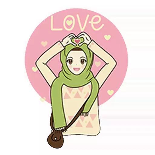 App Insights Hijab Islamic Sticker Wastickerapps Apptopia