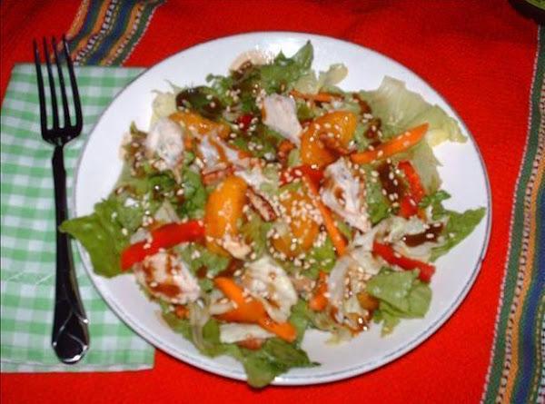 Maple Dijon Salad Recipe