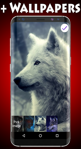 Wolf Lock Screen 1.0 screenshots 3