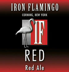 Logo of Iron Flamingo Red Ale