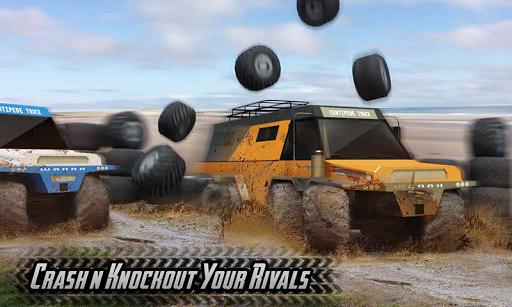 Offroad 8 Wheeler Russian Truck Racing Outlaws 3D 1.2 Mod screenshots 2