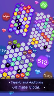 Hexa Cell - Number Blocks Connection Puzzle Games - náhled