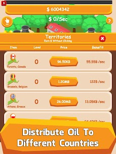 Oil Tycoon – Idle Tap Factory Mod Apk (Unlimited Money) 7