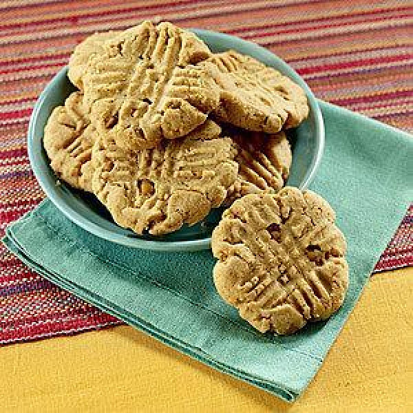Peanut Butter Cookies With Butterscotch Chips Recipe
