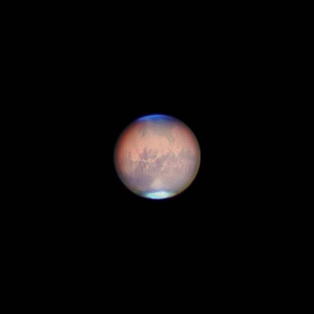Marte, la imagen ganadora de la categoría 'Planetaria'.