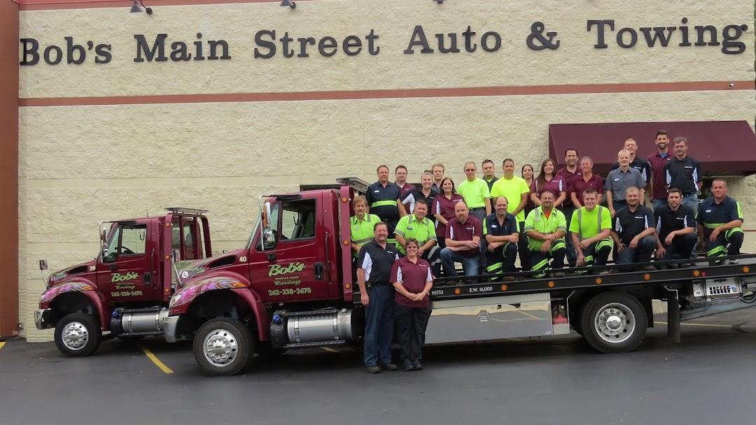 Main Street Auto >> Bob S Main Street Auto Towing Auto Repair Shop In West Bend