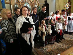 Photo: Все участники исполняют старинный гимн «Adeste fideles».Фото Юлии Карловой