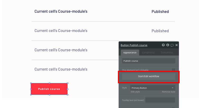 Bubble no code Udemy clone tutorial publishing course