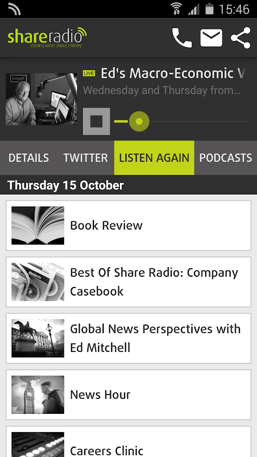 Share Radio- screenshot