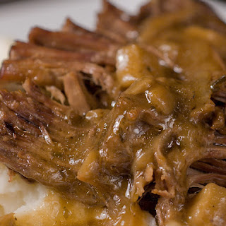 Pot Roast with Mushroom Gravy
