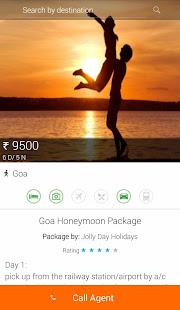 Travel Packages for Holidays- screenshot thumbnail