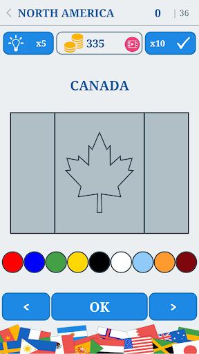 The Flags of the World u2013 Nations Geo Flags Quiz 4.9 screenshots 3