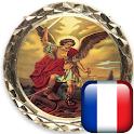 Holy Rosary of Saint Michael in French icon