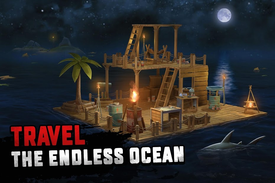 Survival on Raft: Ocean Nomad - Simulator Android App Screenshot