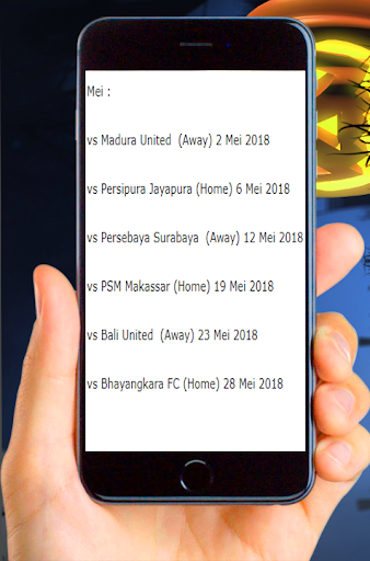 Jadwal Pertandingan Persib Liga 1 2018 1.0.0 screenshots 4