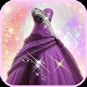 Princess Gown Fashion Photo Montage icon