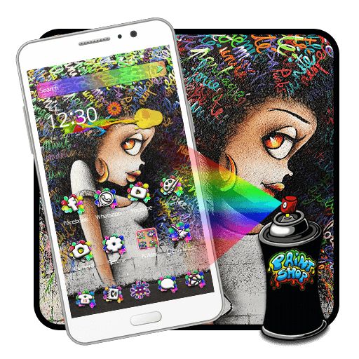 Fashion Graffiti Girl Launcher