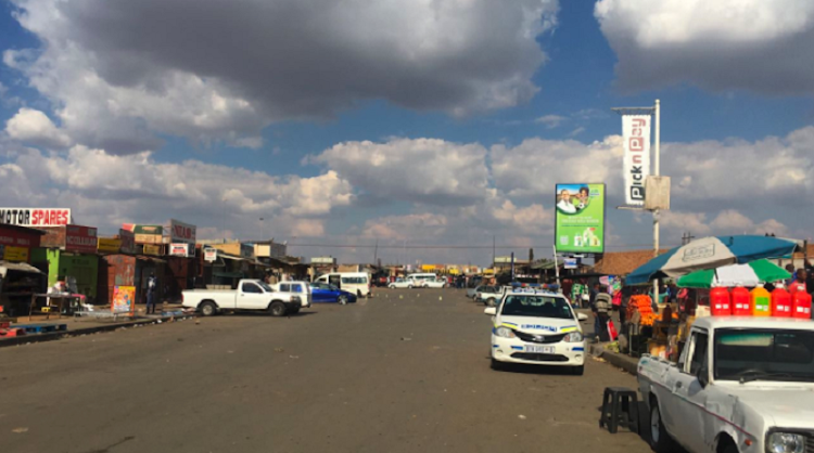 Three people were killed and another seriously wounded in a shooting outside a shop in Tembisa on the East Rand Wednesday afternoon.