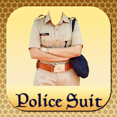 Police Suit Photo Frames