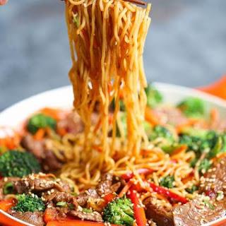 Garlic Sesame Noodles.