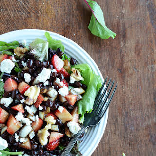 Strawberry Black Bean Salad.