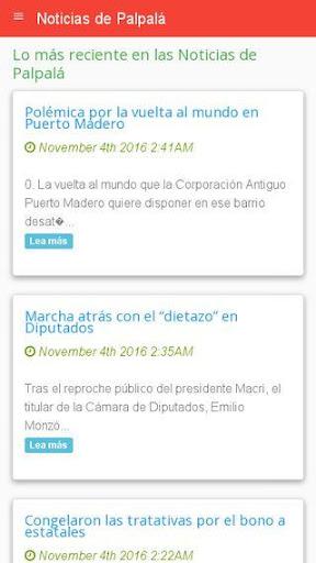 Noticias de Palpalu00e1  screenshots 2