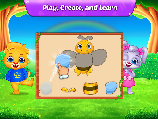 Puzzle Kids - Animals Shapes and Jigsaw Puzzles screenshots 11