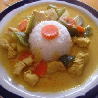 Indisches Chicken Curry à la Papa