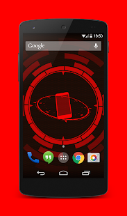 Holo Droid Free - best device info live wallpaper Screenshot