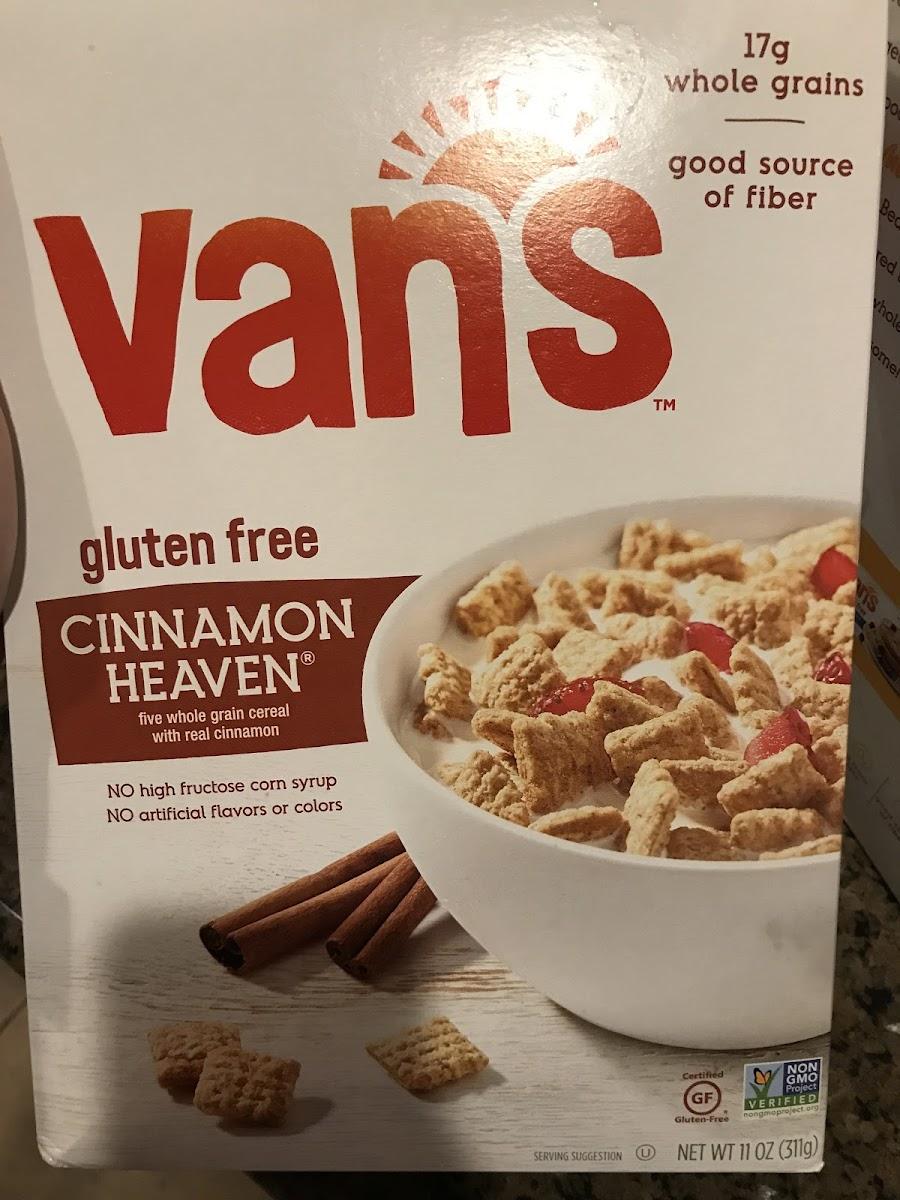 Five Whole Grain Cereal With Real Cinnamon, Cinnamon Heaven