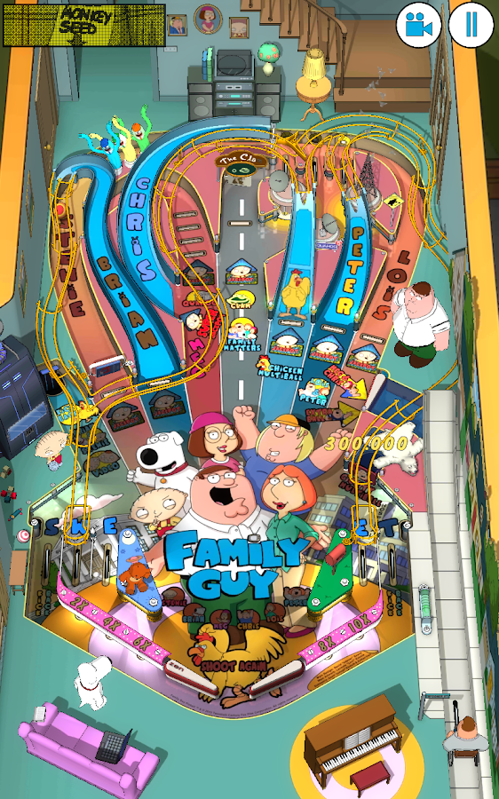Family Guy Pinball- screenshot