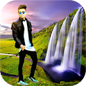 Fancy Waterfall Photo Frames icon