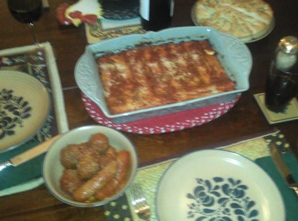 Momma's Manicotti Recipe