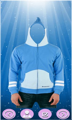 Men Sweatshirt Photo Suit