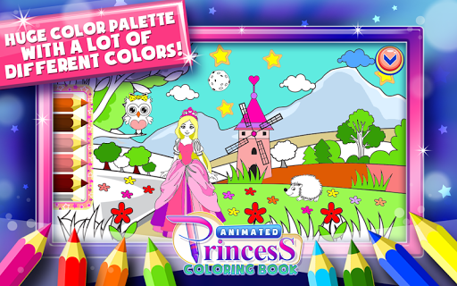 Download Princess Coloring Book Games For PC