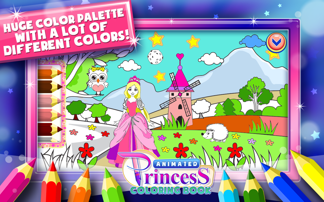 Princess Coloring Book Games Android Apps On Google Play