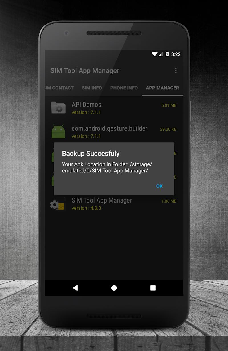 SIM Tool App Manager Screenshot 6