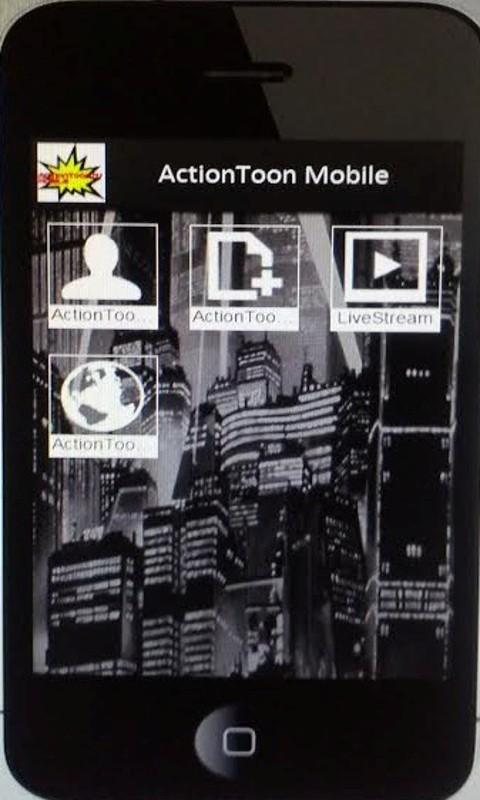ActionToonTV Mobile 2.0- screenshot