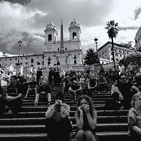 Spanish Steps by KOUSTUV LAHIRI - Travel Locations Landmarks