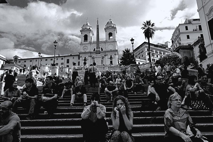 Spanish Steps by KOUSTUV LAHIRI - Travel Locations Landmarks