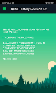 Download K C S E History Revision Kit : Notes, Past papers