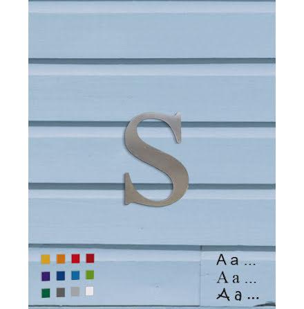 Bokstav/siffra 160mm, aluminium 1,5mm