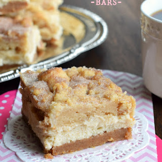 Snickerdoodle Cheesecake Bars