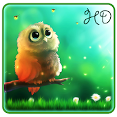 Cute Owl APUS Live Wallpaper Android APK Download Free By Cool Theme Team