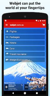 Webjet - Flights and Hotels - náhled