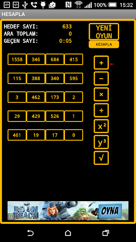 android Hesapla Oyunu Screenshot 0