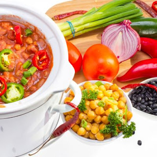 Spicy Crockpot Pinto Beans.
